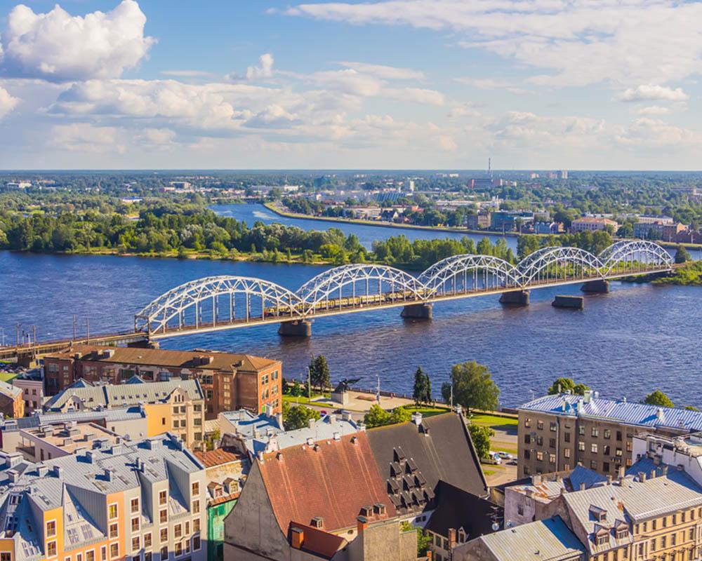 Vliegtickets Eindhoven Riga EIN RIX